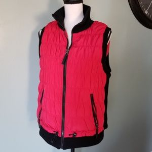 Calvin Klein Performance Red and Black Vest